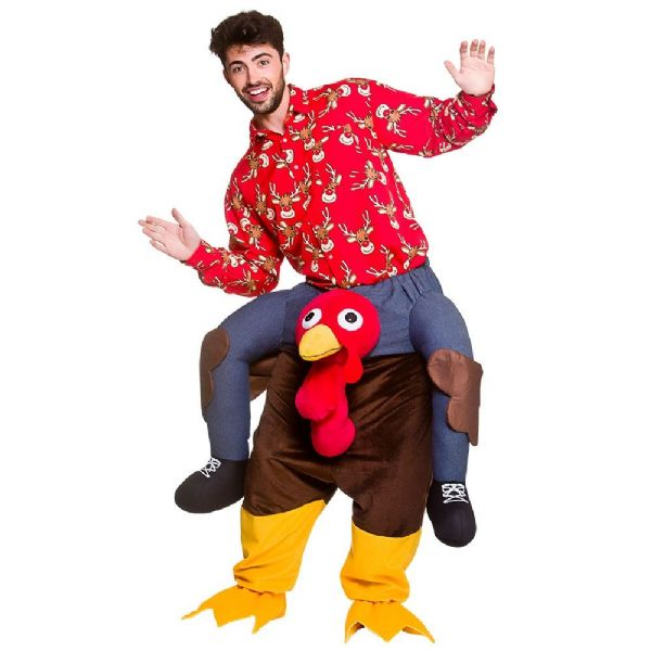 Adults Carry Me - Turkey Costume Unisex Fancy Dress